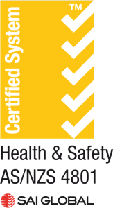 Health and Safety AS/NZS 4801