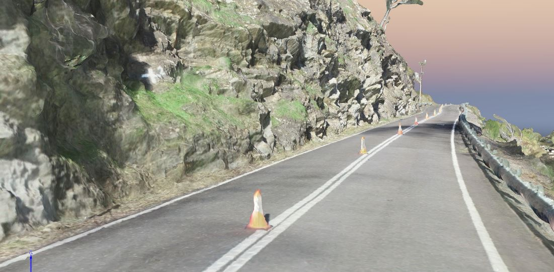 RPAS drone mapping - Gorge Road Reality