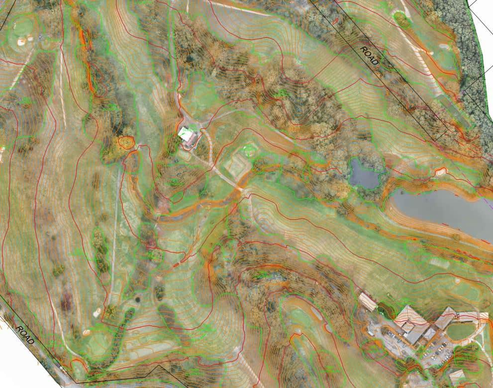 RPAS drone aerial surveying terrain